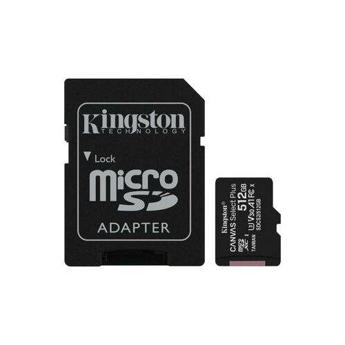 Фото - Карта памяти 512 ГБ microSDXC Kingston Canvas Select Plus Class 10 UHS-I (SDCS2/512GB) карта памяти 512gb kingston canvas select plus microsdxc u