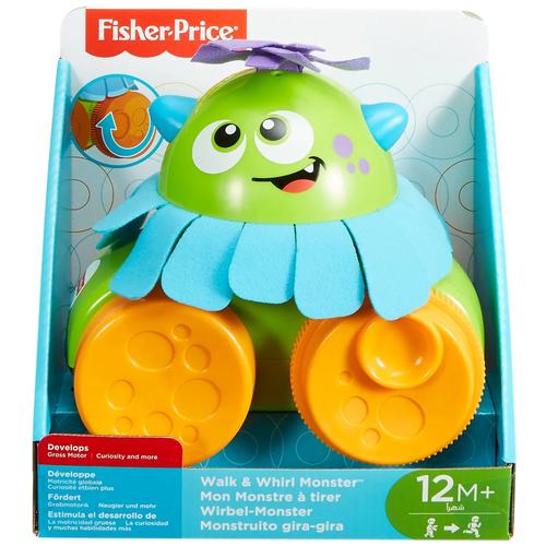 Фото - Fisher-Price Infant Toys Развивающая игрушка Монстрик Ходим и играем fisher price посмотри и найди