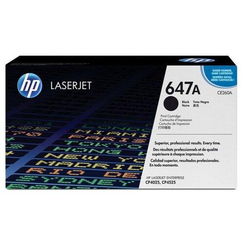 Фото - Картридж лазерный HP 647A CE260A чер. для CLJ CP4025/CP4525 картридж bion bcr ce263a magenta для hp clj cp4025 cp4525 1816389