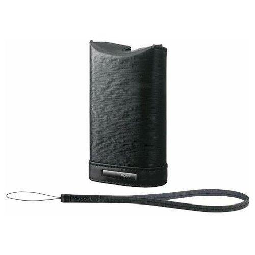 Чехол для фотокамеры Sony LCS-WM Black для аппаратов J/ S/ W/ WX черный Размер 11.80х4х7.20 см (LCSWMB.SYH)