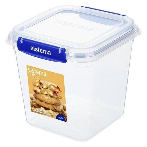 контейнер для печенья sistema 1 8 л 1333 Контейнер для печенья KLIP IT+ 2,2 л, материал пластик, Sistema, SI881334