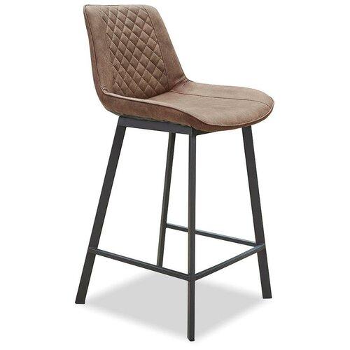 Фото - Стул полубарный Trix (65), коричневый/черный стул полубарный peggy 60 матовый коричневый черный