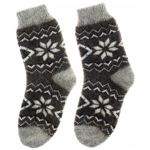 Носки женские из 100 % козьей шерсти, женские, цветочный узор, 37-39 размер носки из шерсти высокие колючие носки из шерсти wsc601