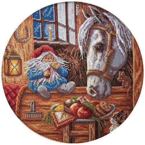 Купить Набор для вышивания крестиком PANNA Домовой-покровитель домашних животных (SO-1128), Наборы для вышивания