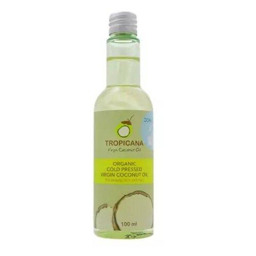 Фото - Tropicana Масло кокосовое для кожи и волос «моке» - Organic virgin coconut oil moke, 100мл масло кокосовое для тела extra premium virgin coconut oil масло 500мл