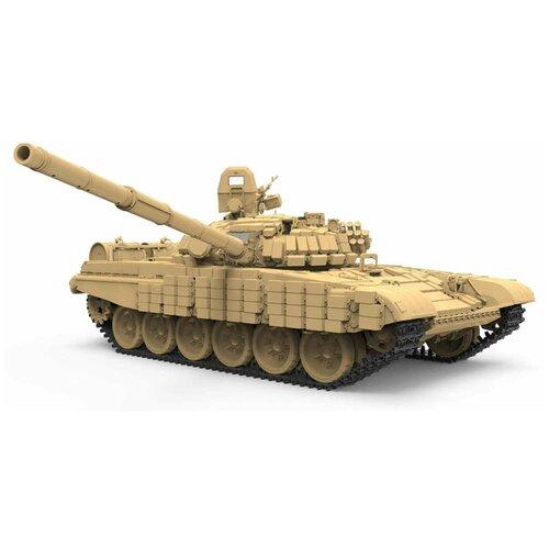realts voyager models 1 35 modern russian t 90 dozer basic detail set for meng ts 014 Сборная модель MENG - TS-033 танк T-72B1 1/35