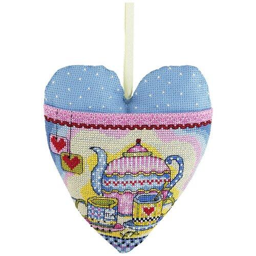 Купить Набор для вышивания PANNA IG-1381 ( ИГ-1381 ) Сердечко для друзей 1 шт., Наборы для вышивания