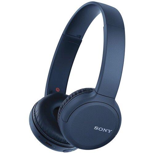 Беспроводные наушники Sony WH-CH510, blue беспроводные наушники sony wh ch710n blue