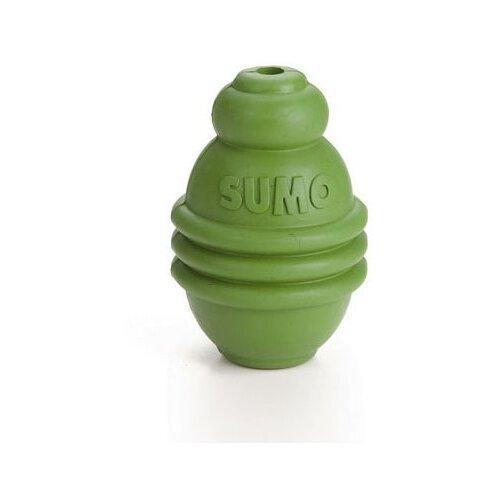 Игрушка для собак Beeztees Sumo Play для зубов L green