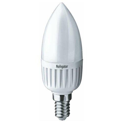 Лампа светодиодная 94 492 NLL-C37-7-230-4K-E14-FR 7Вт свеча 4000К бел. E14 560лм 176-264В Navigator 94492 (упаковка 10 шт)