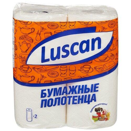 Полотенца бумажные LUSCAN 2-сл., с тиснением, 2рул./уп. 4 шт.  - Купить