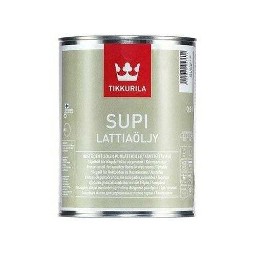 Масло для пола в бане и сауне Tikkurila Supi Lattiaolju, 0.9 л