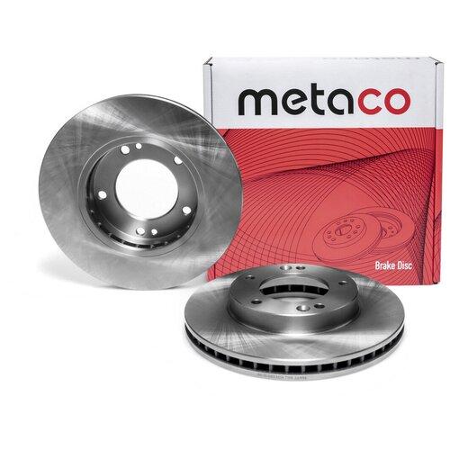 Диск тормозной передний вентилируемый Metaco 3050-083
