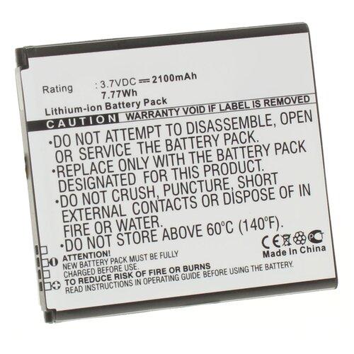Аккумулятор iBatt iB-U1-M1086 2100mAh для Samsung Galaxy SIV, Galaxy S4, GT-I9500, Galaxy S4 LTE, Galaxy S4 LTE-A, GT-i9505, аккумулятор rocknparts zip для samsung galaxy s4 gt i9500 337202