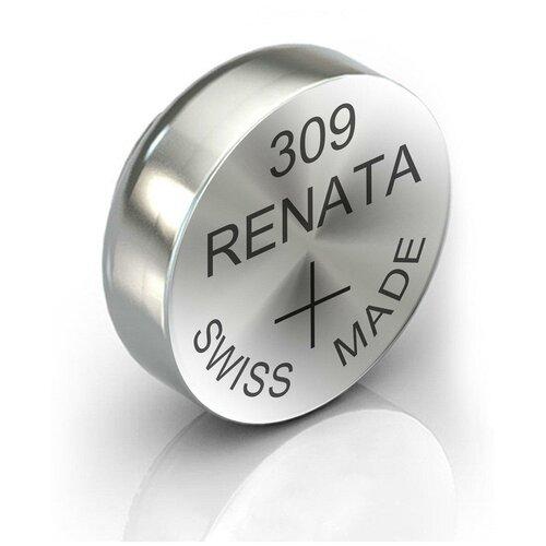 Фото - Батарейка RENATA R 309, SR754SW 1 шт. батарейка renata r 384 sr41sw 1 шт