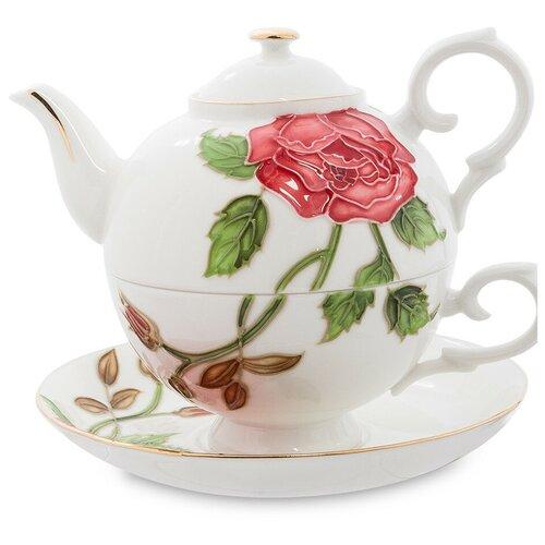 Фото - JS-16 Чайный набор Золотая Роза Рафаэлло (Pavone) букет рафаэлло
