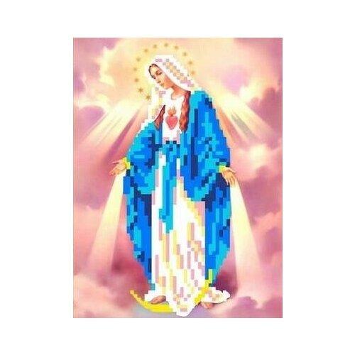 Святая Мария Рисунок на ткани 13х17 Каролинка ткби 5031 13х17 Каролинка ткби 5031)