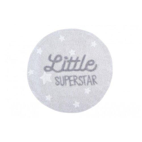 Фото - Ковер с надписью Little Superstar 120D ковры lorena canals ковер с помпонами 120d