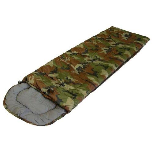 Спальный мешок / СП3 камуфляж / Спальный мешок туристический