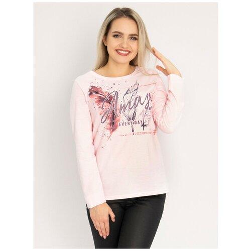 Лонгслив Margo, размер 44, розовый