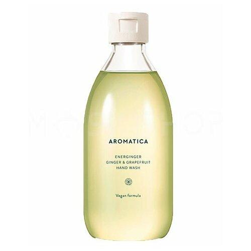 Жидкое мыло для рук с имбирем и грейпфрутом Aromatica Energinger Hand Wash Ginger & Grapefruit