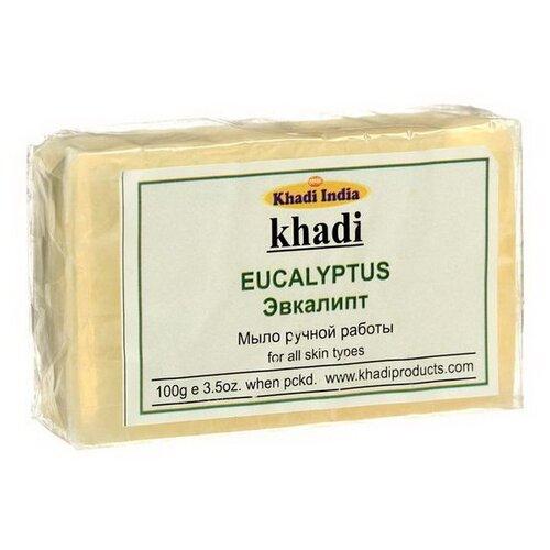 Мыло кусковое Khadi Eucalyptus, 100 г