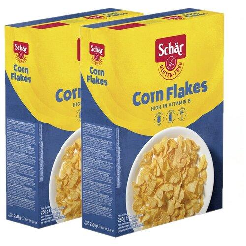Фото - Dr.Schar Кукурузные хлопья (Corn flakes), 2шт. Х 250г хлопья кукурузные nestle gold snow flakes 300 г