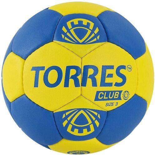 Мяч гандбольный TORRES Club, р.3, арт.H32143 недорого
