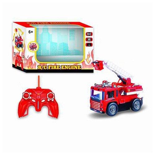 Купить Радиоуправляемая пожарная машина FullFunc , со световыми эффектами, Shenzhen Jingyitian Trade, Радиоуправляемые игрушки