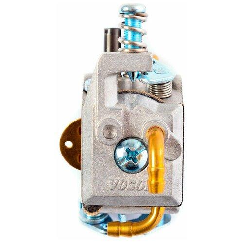Карбюратор для бензопилы 45/50/55/62 куб.см ( с подкачкой, 3 трубки)