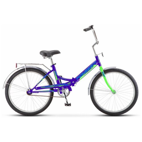 Велосипед PIONEER Oscar 24/14 2020-2021 darkblue-green-blue