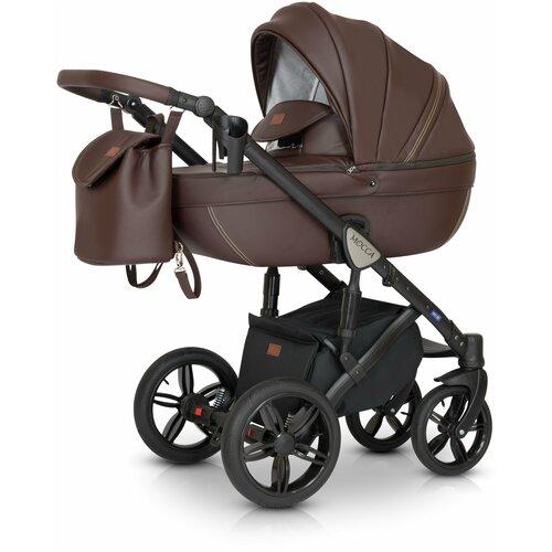 Детская коляска 3 в 1 Verdi Mocca шоколадная коляски 3 в 1 verdi laser 3 в 1