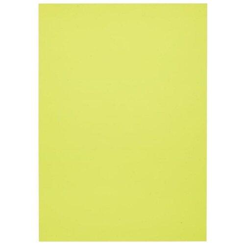 Обложка для переплета А4 ProMEGA Office, 200мкм, пластик, прозрачный желтый, 100шт.