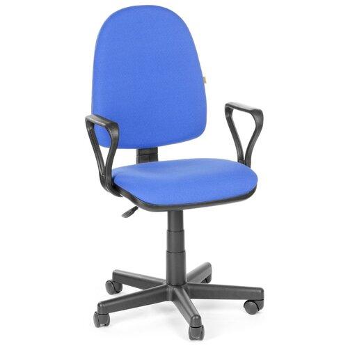 Компьютерное кресло Olss Престиж офисное, обивка: текстиль, цвет: синий B-10