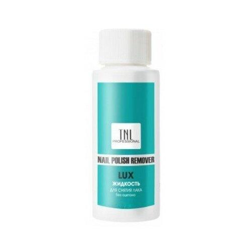 TNL PROFESSIONAL TNL, Жидкость для снятия лака LUX без ацетона, 500 мл tnl жидкость для снятия акрила и типс 100 мл