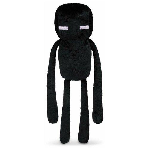 Детская мягкая игрушка ВсеИгрушки / Плюшевый Эндермен Enderman из игры Майнкрафт (Minecraft) для детей, мальчиков и девочек