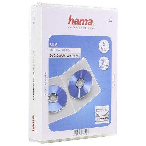 Фото - CD-бокс Hama Standart CD Double Box new total english starter workbook with key cd