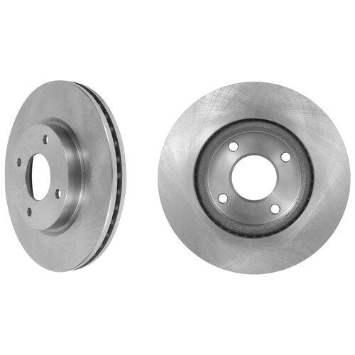 Тормозной диск передний MARSHALL M2000472 для Nissan Cube (Z12) 08-, Nissan Tiida (C11) 07- // кросс-номер TRW DF6142 // OEM 40206EM10A; 40206ZW90A; 40206ET01C; 40206ET02C