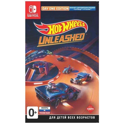 Игра Hot Wheels Unleashed Day One Edition (Издание первого дня) Русская Версия (Switch)