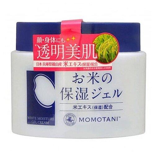 Momotani Rice moisture cream, 230г Крем увлажняющий с экстрактом риса для лица и тела крем для лица и тела moisture skin cream hatomugi 220г
