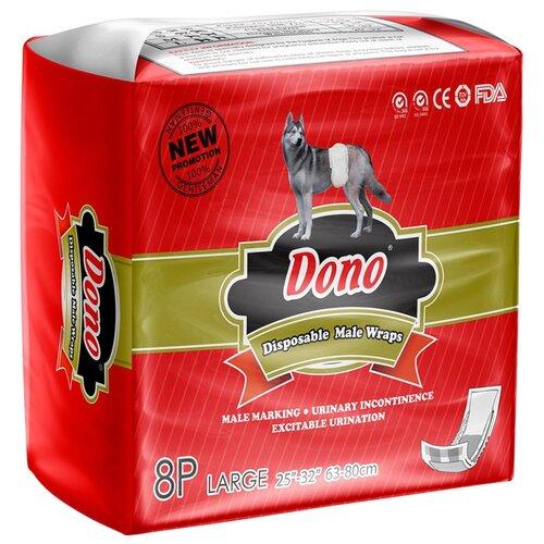 Подгузники для собак Dono MALE PET DIAPER L 8 шт.
