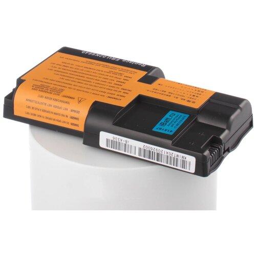 Аккумуляторная батарея iBatt iB-B1-A336 4400mAh для ноутбуков iBM-Lenovo 02K7026, аккумуляторная батарея ibatt ib b1 a537h 5200mah для ноутбуков ibm lenovo l09s6y02 l09l6y02 l09m6y02