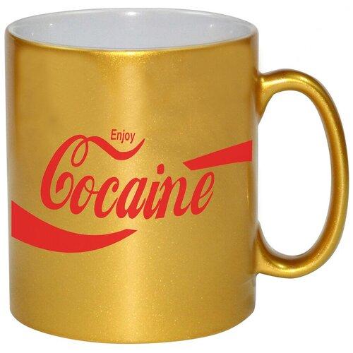 Золотая кружка Cocaine