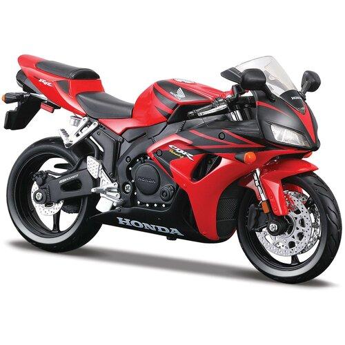 Maisto Мотоцикл сборный Honda CBR1000RR, 1:12, красный
