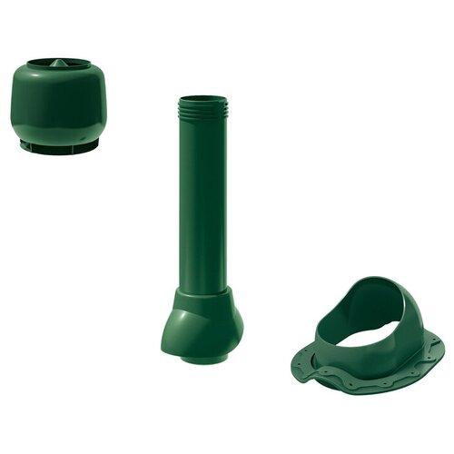 Комплект кровельной вентиляции технониколь D110 Monterrey, Зеленый