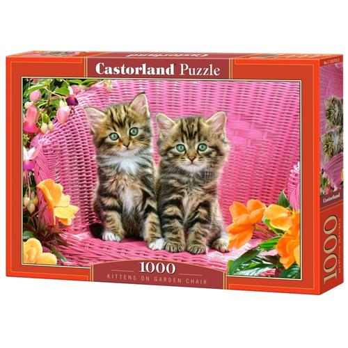 Пазл Castorland Kittens on Garden Chair (C-103775), 1000 дет.