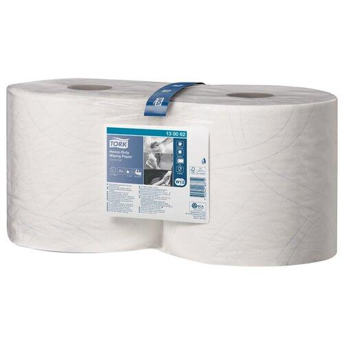 Протирочная бумага в рулонах Tork Advanced (W1/W2) ЦВ, 2-слойная, 170м/рул, белый, повыш. прочности, 2 шт.  - Купить