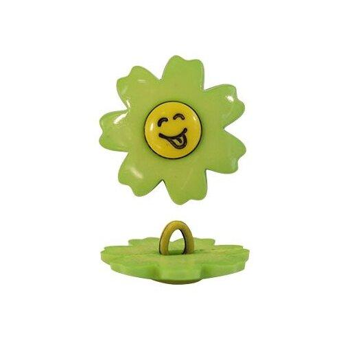 Купить Пуговица, Цветок (48276) 21мм (230/109) 72 шт, Astra & Craft, Пуговицы
