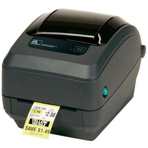 Принтер для этикеток Zebra GK420t, Black