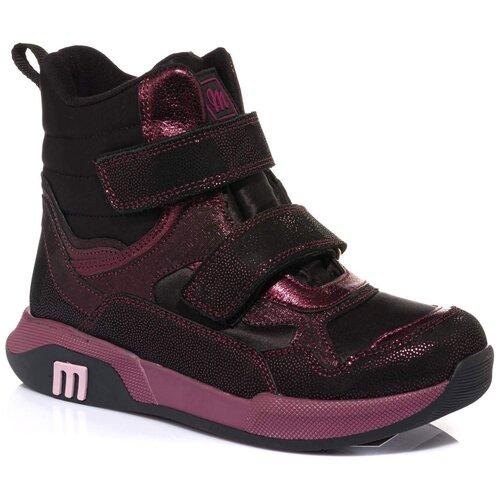 Ботинки MINIMEN размер 26, бордовый